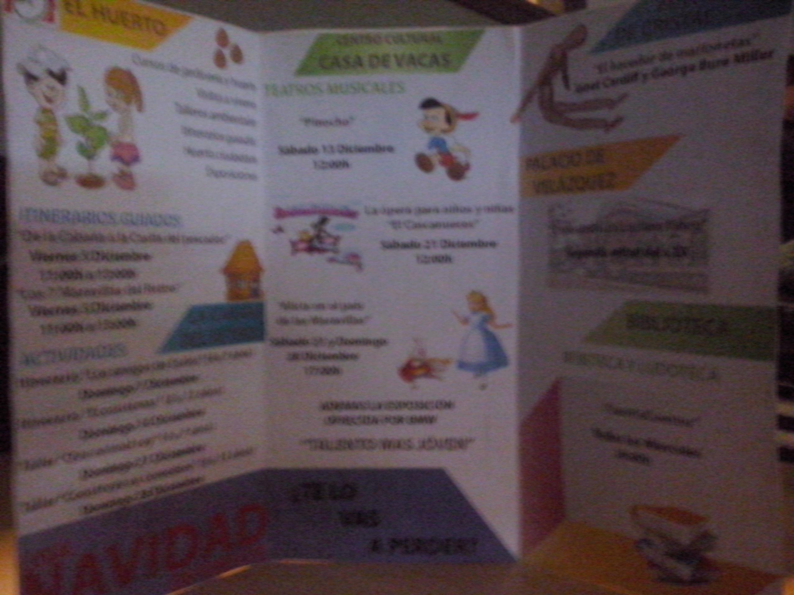 Creamos documentos de información a las familias