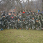 1º de TAFAD en el Paintball