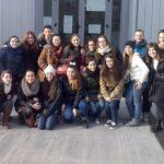2º TSEI visitan el Centro de Apoyo a las Familias (CAF)