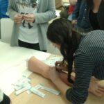 Seminario/taller práctico de primeros auxilios y venopunción