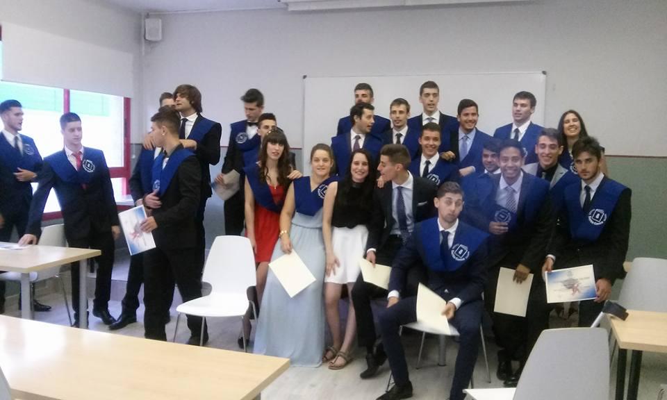 Graduación TAFAD, Infantil y Grado en Radiología 2015 - FP Santa Gema