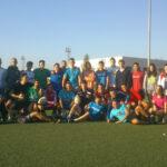 Sesión de Rugby en 2º de TAFAD