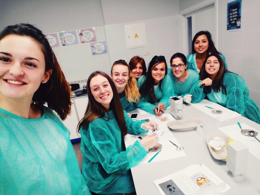 Prácticas de laboratorio en TSRT