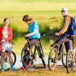 Las rutas en bici, diversión en el medio natural