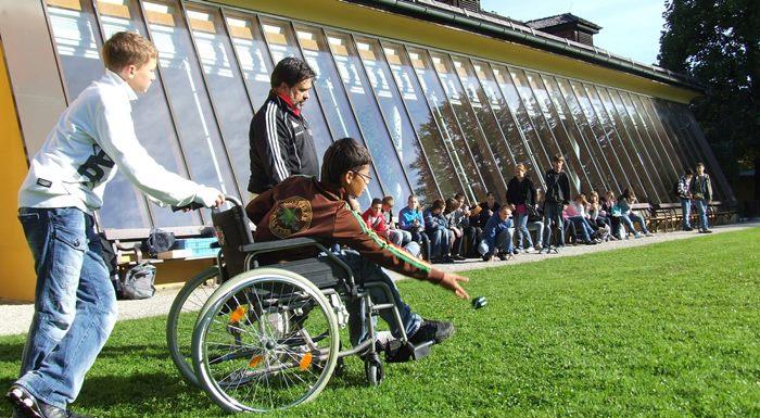 Conducción de Actividades en el Entorno Natural para personas con discapacidad