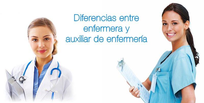 diferencias entre enfermera y auxiliar de enfermeria