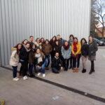 Los alumnos de 2º TSEI visitan el centro de apoyo a las familias