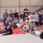 Prácticas de Gimnasia Deportiva en 1º de TAFAD