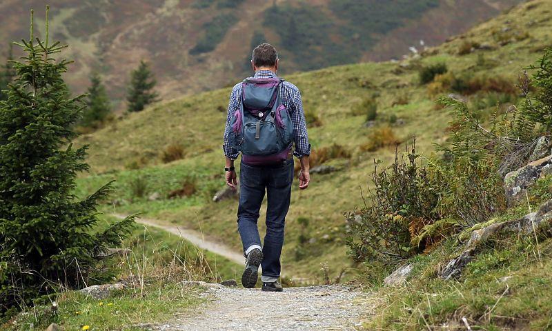 Rutas a pie con personas mayores