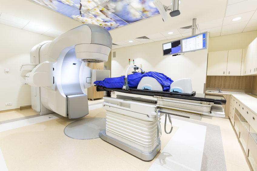 maquinaria de radioterapia