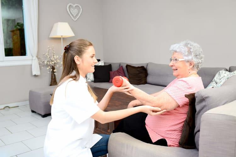 personal de geriatría