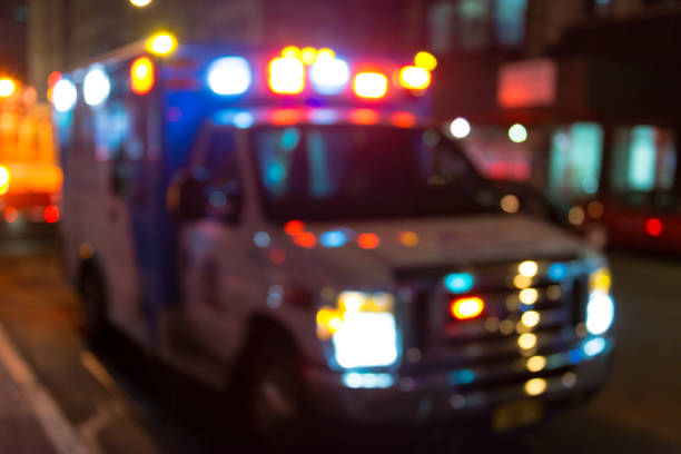 luces de vehículos de emergencia