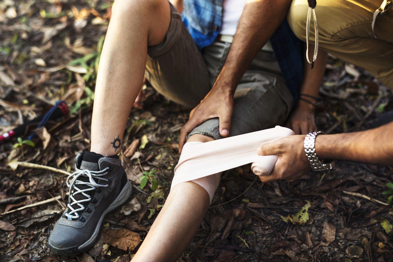 Actividades al aire libre: primeros auxilios en TECO