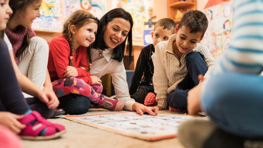 El educador infantil como modelo y autoridad