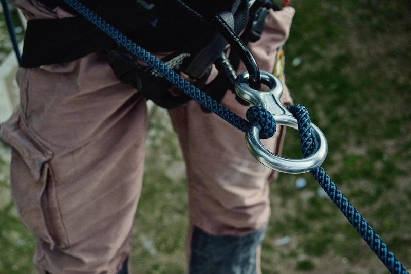 Practicar escalada personas con prótesis