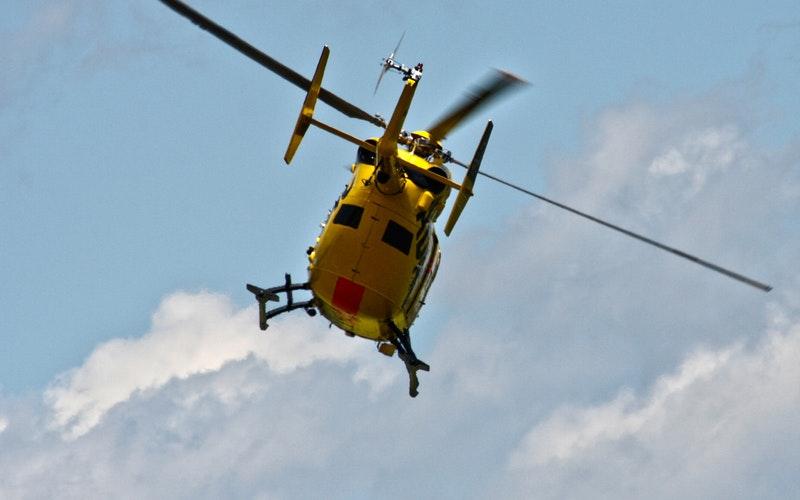 Traslado de pacientes en helicóptero